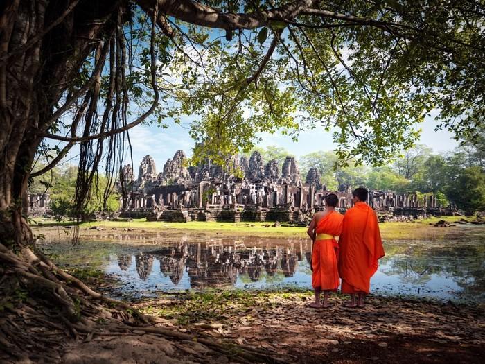 Khung cảnh đền Angkor, Siem Reap