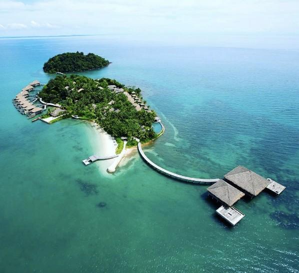 Toàn cảnh đảo Song Saa
