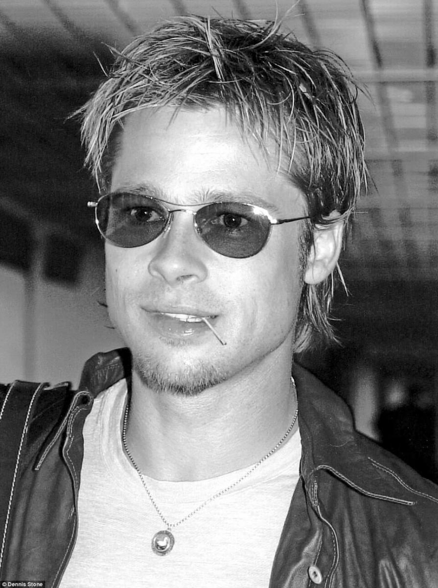 Brad Pitt thời còn trai trẻ.