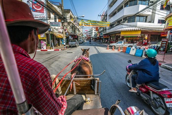 Lampang- thành phố của những chiếc xe ngựa