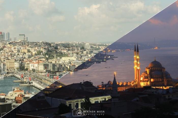 Bektash Musa là một nhiếp ảnh gia người Thổ Nhĩ Kỳ, anh đã dành thời gian khám phá và chụp rất nhiều bức hình về thành phố nổi tiếng này.