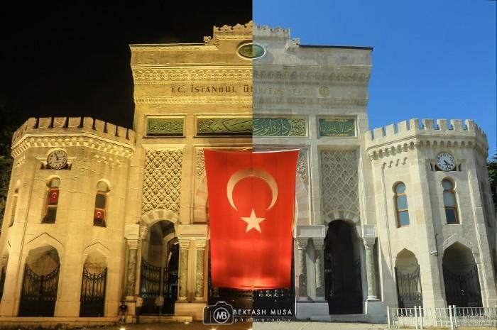 Cổng vào Đại học Istanbul, ngôi trường nổi tiếng của Thổ Nhĩ Kỳ được thành lập từ năm 1453.