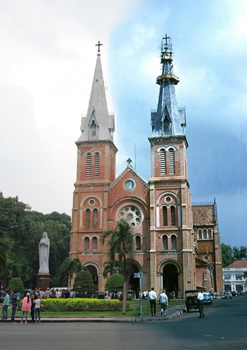 Khi nhắc tới Sài Gòn, người ta vẫn nghĩ ngay tới Nhà thờ Đức Bà với phong cách kiến trúc Roman nằm ngay trung tâm thành phố và thu hút rất nhiều khách du lịch trong và ngoài nước.