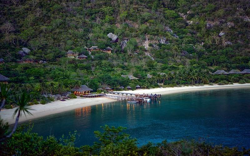 Những resort có địa điểm vàng về phong thủy
