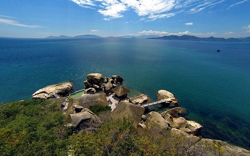 Vị trí đắc địa của Six Sense Ninh Vân Bay