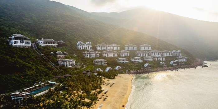 Vị trí đẹp của Intercontinental Danang Sun Peninsula Resort