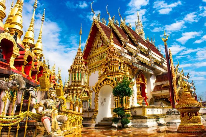 Phrae nổi bật với ngôi chùa lịch sử