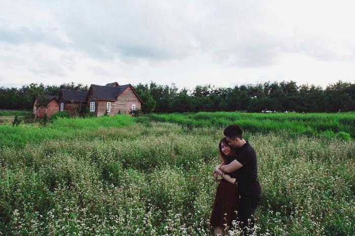 Và những ngôi nhà nhỏ bình yên trên thảo nguyên xanh