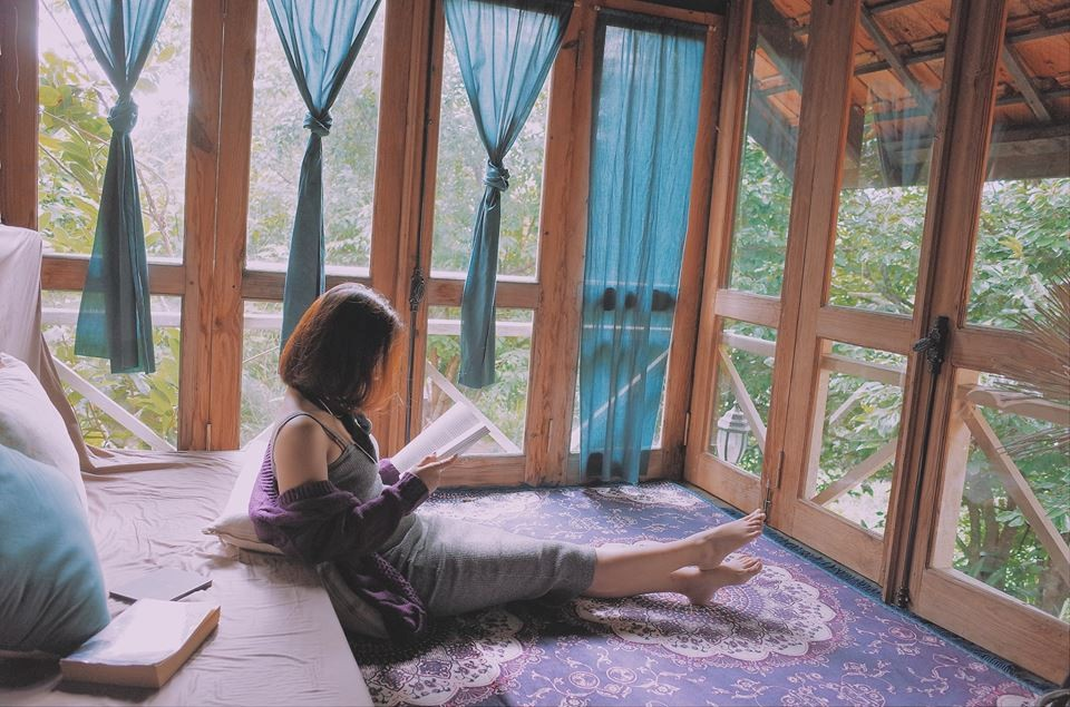 Có đôi khi chỉ là bình lặng, an yên giữa một khung trời đầy thơ mộng