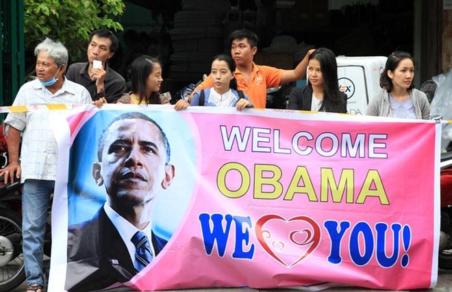 Dự kiến, trưa 25/5, Tổng thống Obama sẽ trò chuyện vớigiới trẻ Việt Namqua buổi hội thảo do nhóm Sáng kiến Thủ lĩnh Trẻ Đông Nam Á (YSEALI) tổ chức tại tòa nhà GEM Center trên đường Nguyễn Bỉnh Khiêm, phường Đa Kao, quận 1.