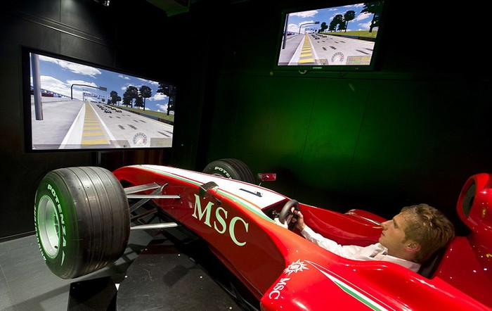 F1 Simulator, MSC Cruises