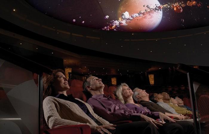 Planetarium, Queen Mary 2