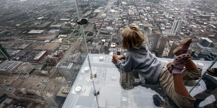 Đài quan sát trên không tại tháp Willis – Chicago, Mỹ