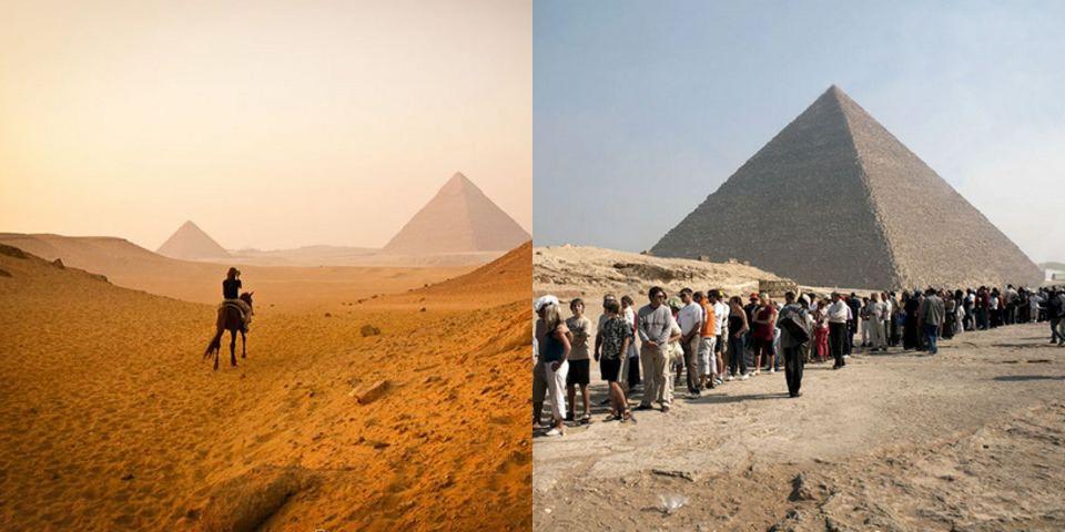 Kim tự tháp Giza, Ai Cập