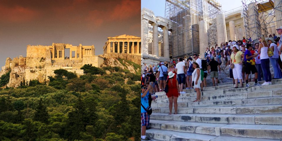Thành cổ Acropolis, Athens, Hy Lạp