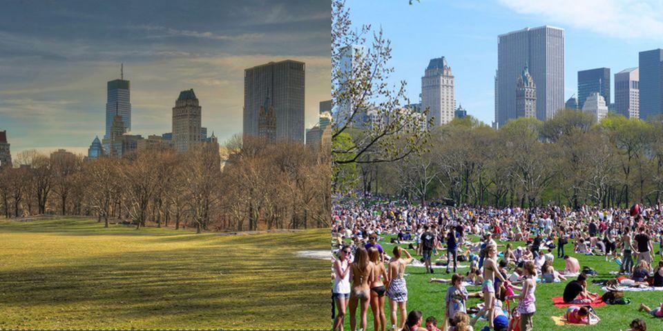 Công viên trung tâm, New York, Mỹ