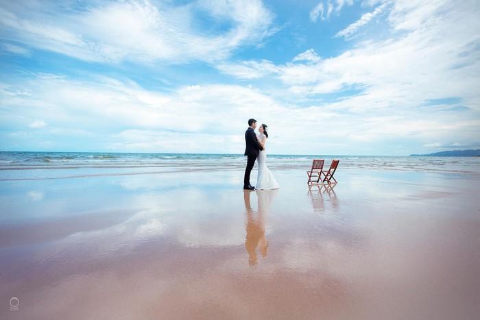 Hồ Tràm có biển xanh đẹp thuần khiết, ngỡ như lạc đến thiên đường biển đẹp mê hoặc lòng người