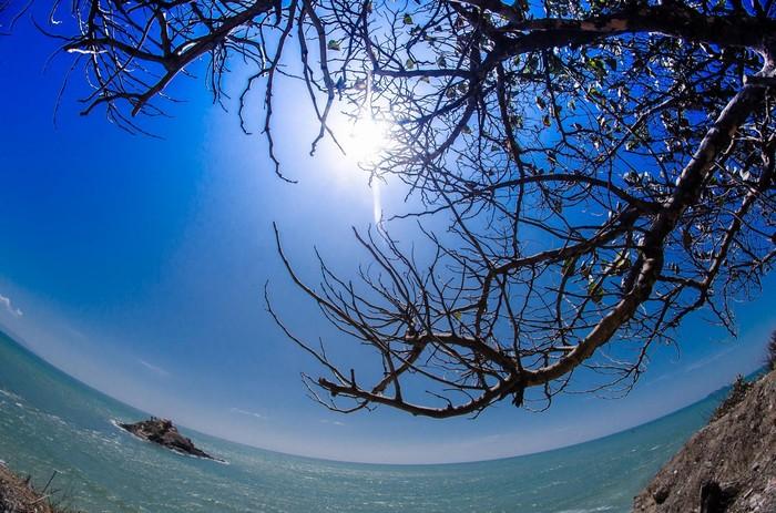 Bởi sắc thanh thiên của biển và trời