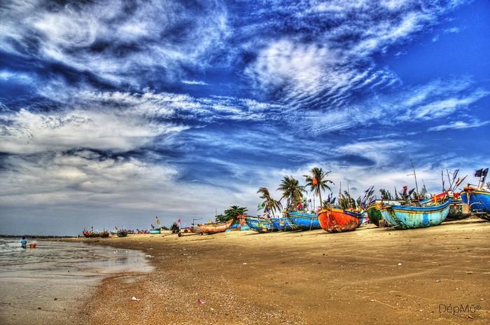 Biển Long Hải như một bức tranh sơn thủy hữu tình