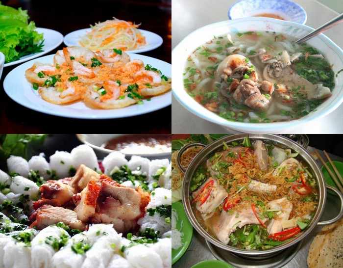 Nơi những món ăn thể hiện đặc trưng vùng miền rát rõ