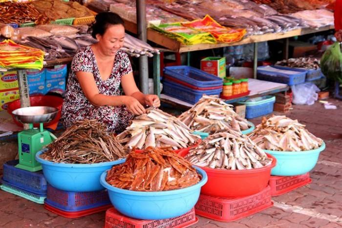 Hải sản khô là một thức quà không thể thiếu