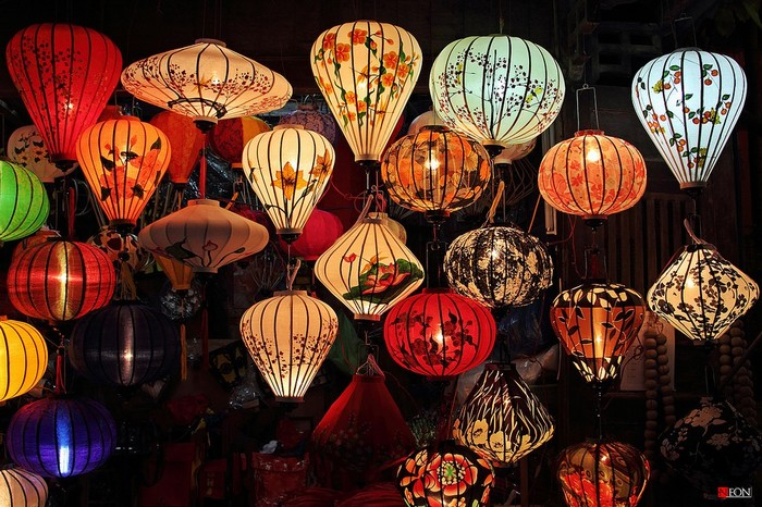 Những loại lồng đèn lung linh sáng rỡ đầy bắt mắt tại Hội An
