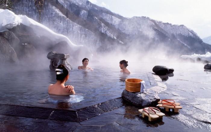 Suối nước nóng - onsen