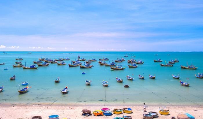 Biển trời quê hương mình đẹp lắm - Ảnh: Khanh Nguyen