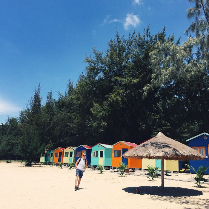 Có một khu cắm trại đẹp như mơ trên chính đất Nha Trang -