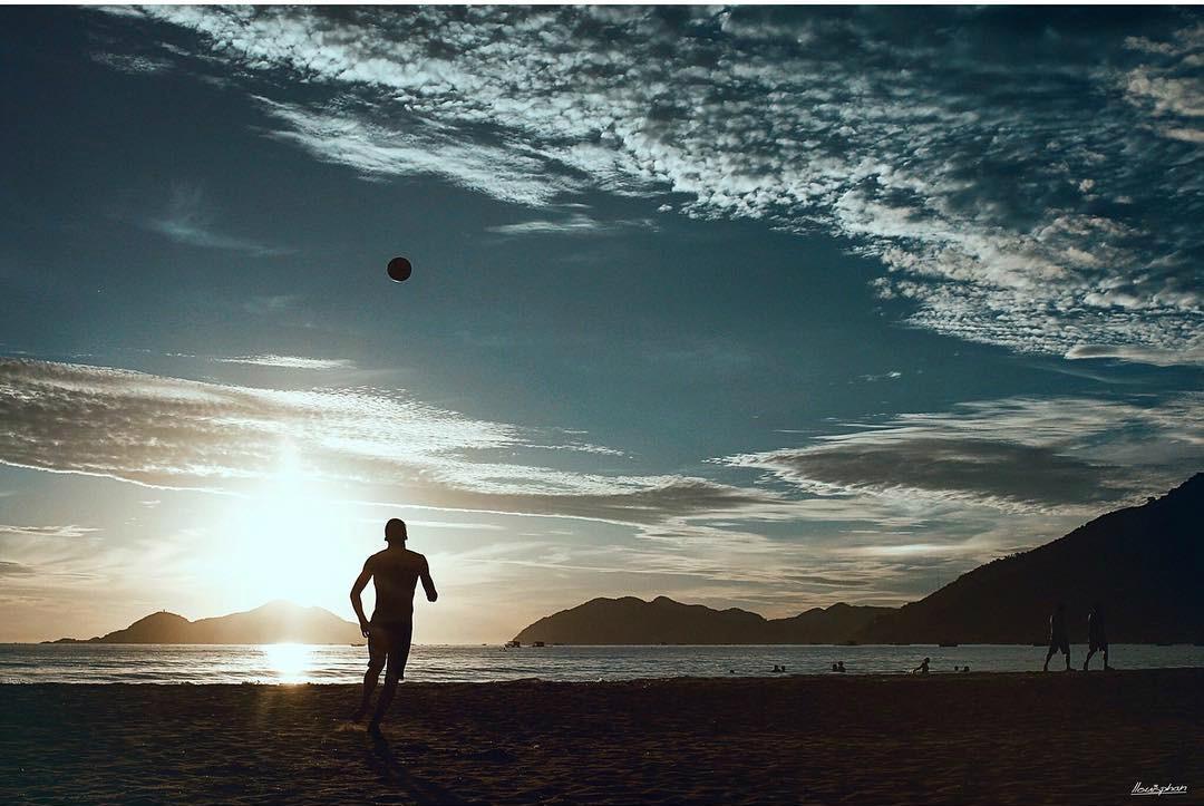 Đến Đại Lãnh cũng đừng quên những trò chơi thú vị trên bãi biển