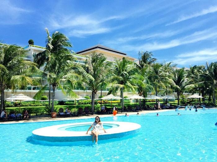 Đã bơi là không ngại nắng- Ảnh: kenhuynh90