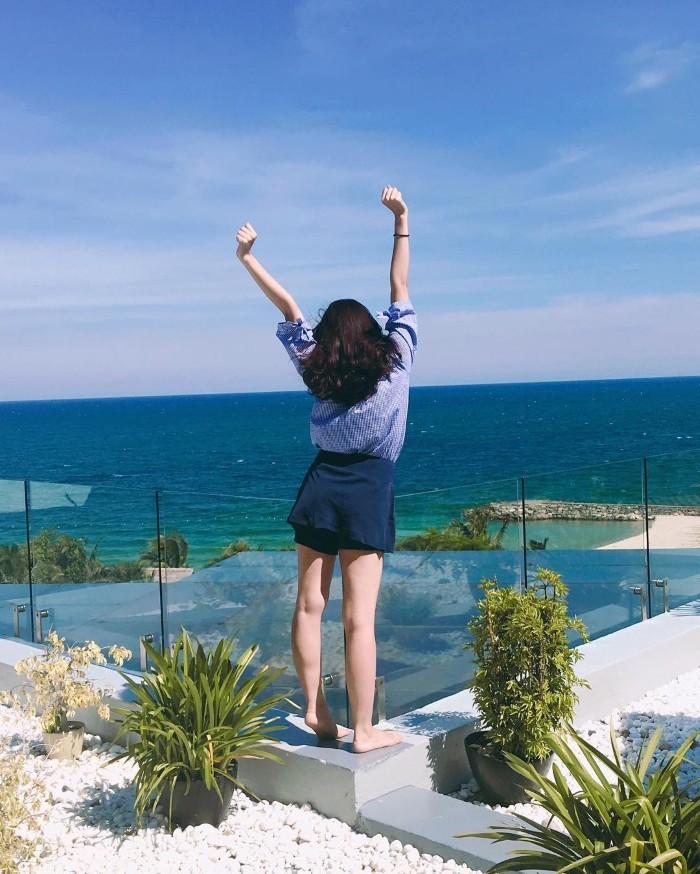Đến Phan Thiết phải ghé nơi đây để vẫy vùng cùng hồ bơi- Ảnh: sslowmotionn