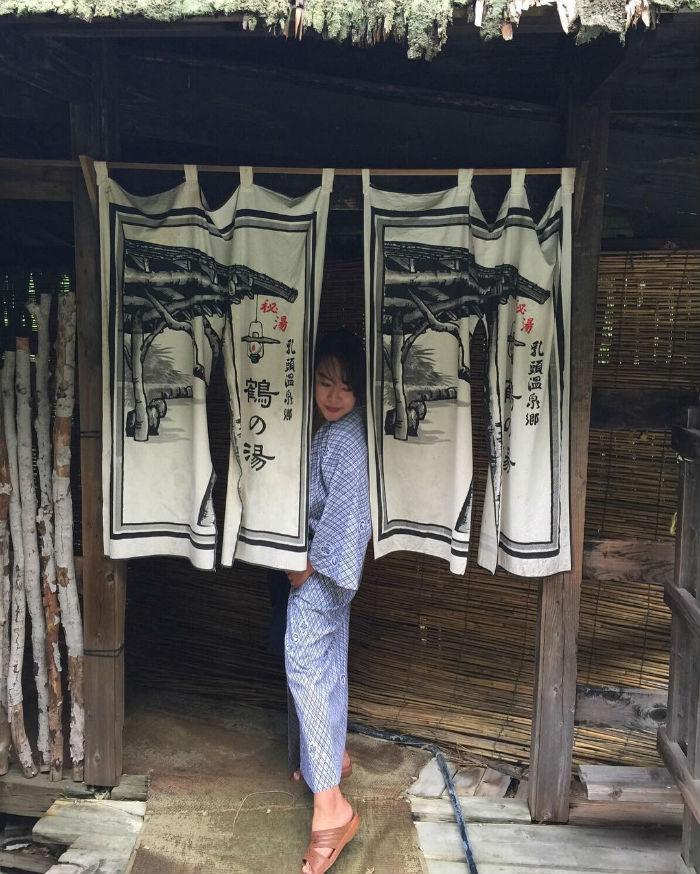 Trang phục phổ biến ở onsen