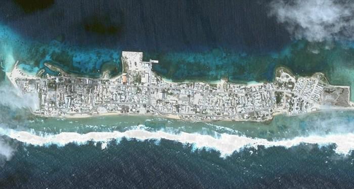 Đảo Ebeye, Cộng hòa Quần đảo Marshall (RMI)