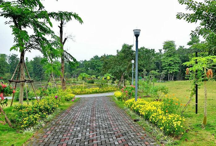 Ecopark được nhắc đến như một thế giới xanh giữa lòng phố thị