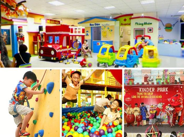 Được nhắc đến như một khu giải trí liên hoàn trong nhà lớn nhất Hà Nội