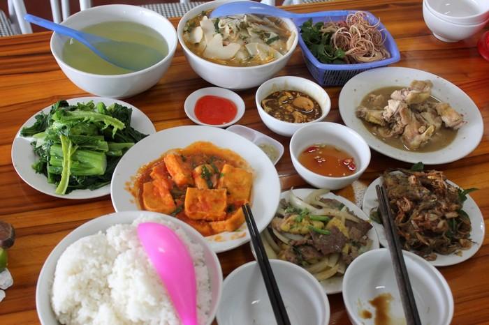 Bữa cơm Mộc Châu