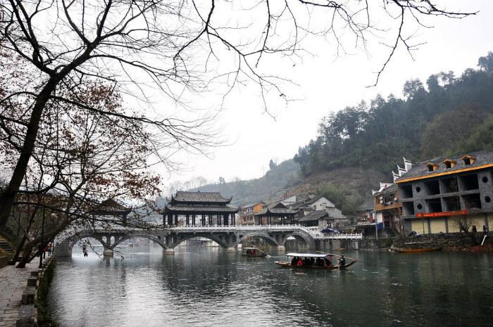 Âm sắc mùa đông nơi Phượng Hoàng cổ trấn