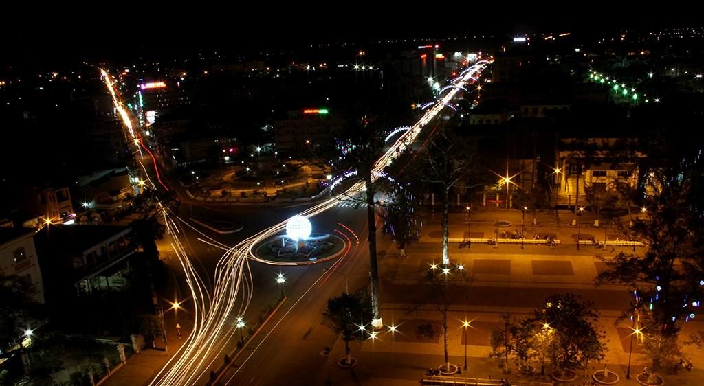 Thành phố Sóc Trăng về đêm
