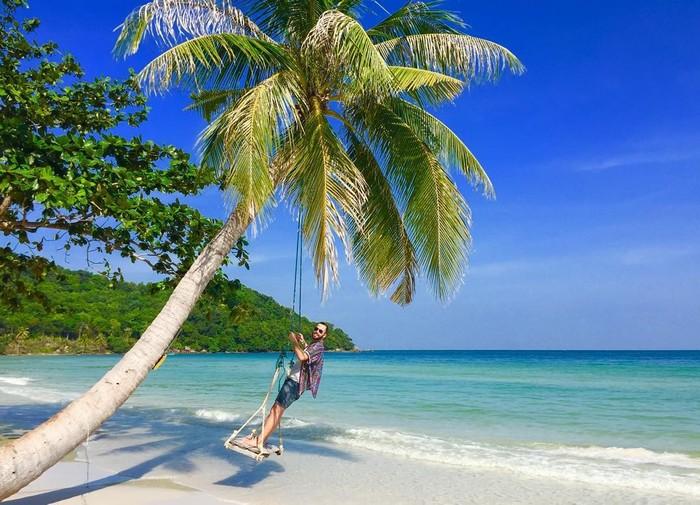 Bãi Dài là một trong những bãi biển đẹp nhất ở Phú Quốc