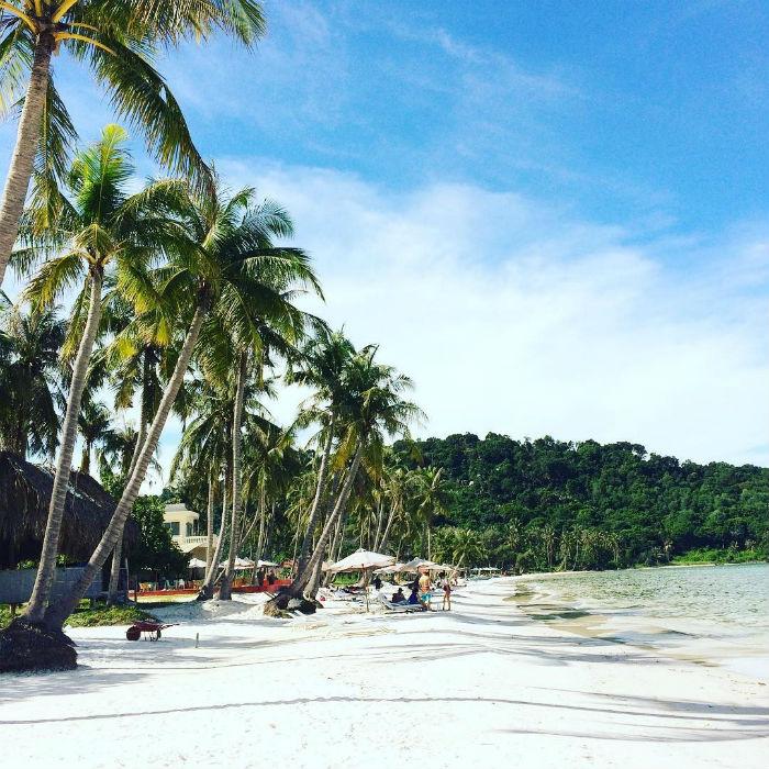Thiên đường biển ở bãi Sao