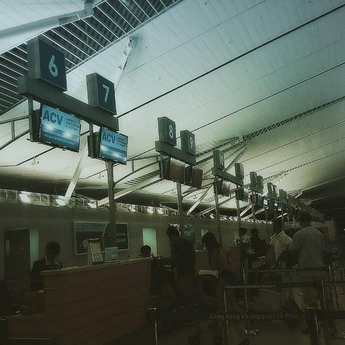 Một góc sân bay Phú Quốc