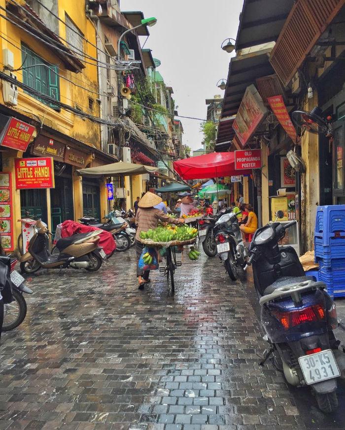Tạ Hiện sau cơn mưa