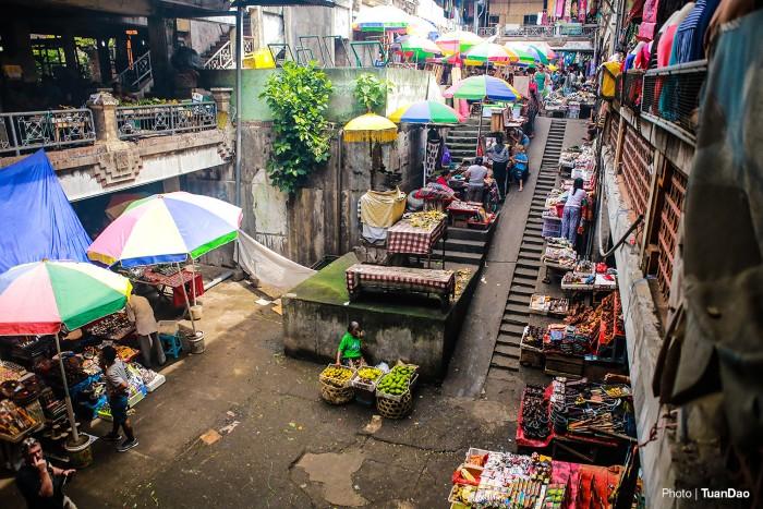 Đến thị trấn Ubud – trung tâm của đảo Bali du khách không nên bỏ qua chợ nghệ thuật Ubud