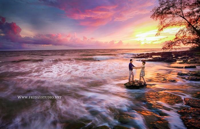Đảo ngọc Phú Quốc vun vén cho xúc cảm tình yêu thăng hoa