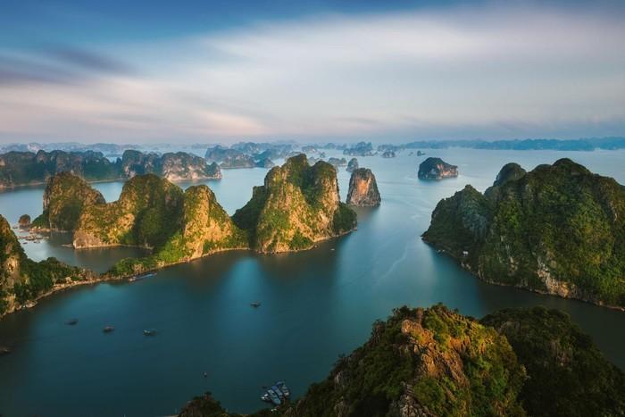 Hạ Long với di sản thiên nhiên thế giới Vịnh Hạ Long cũng được phủ sóng wifi miễn phí