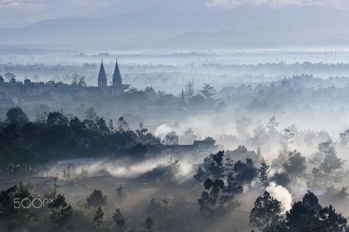 Đà Lạt – thành phố ngàn sương nơi du khach cũng được sử dụng wifi công cộng miễn phí