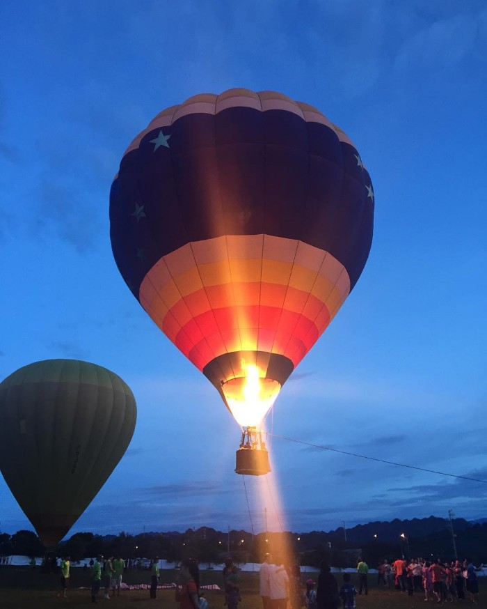 Lễ hội khinh khí cầu Mộc Châu - Ảnh: vubngoc