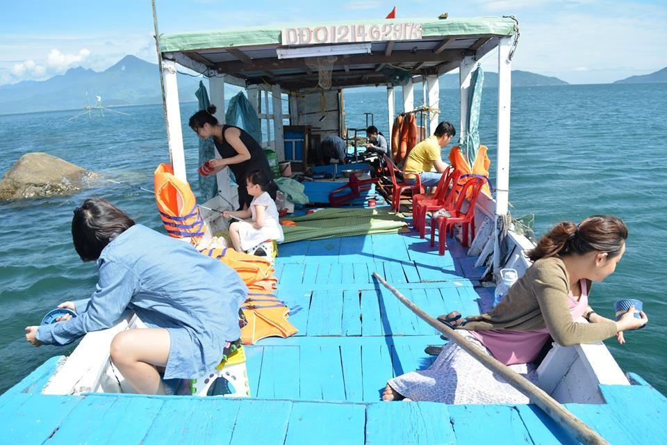 Câu cá là một hoạt động được ưa chuộng tại hòn Chảo