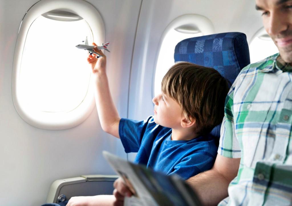 Trẻ sẽ thoải mái hơn khi có ghế riêng